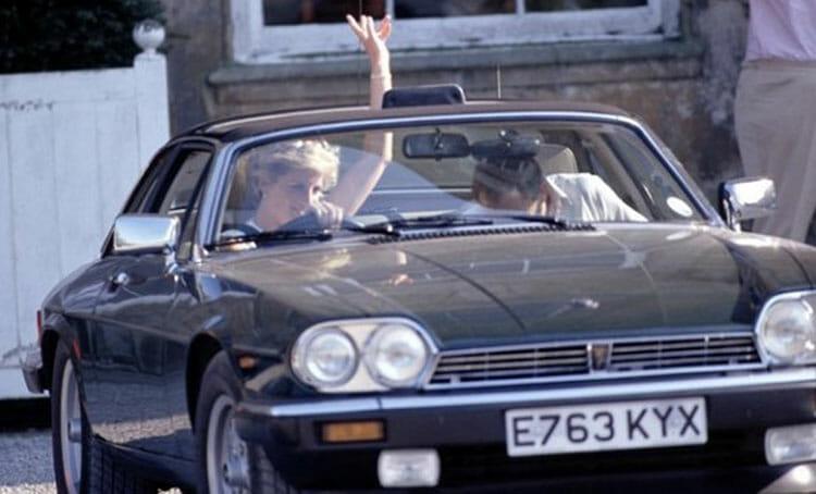 1987 Jaguar XJS Cabriolet Princess Diana