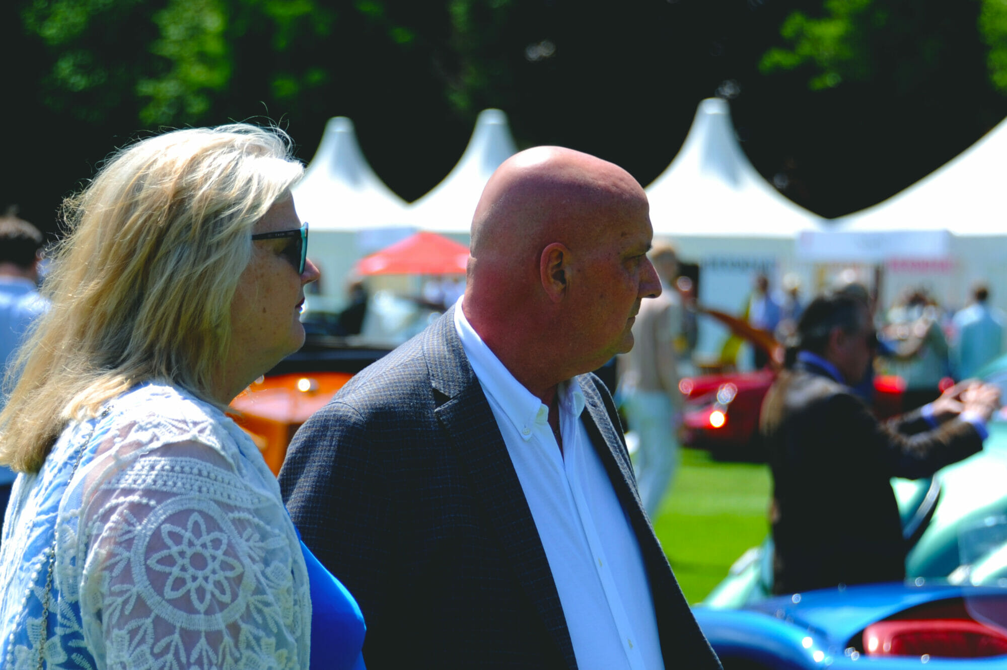 London Concours - XK's Ruth & Dave