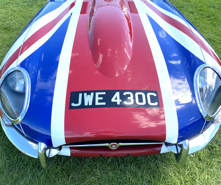 XK Engineering's Sales & Marketing Manager at E-Type 60