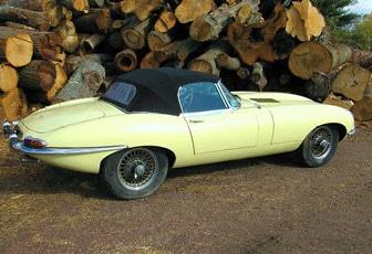 Jaguar E-Type Series 1 3.8 Roadster LHD 1963
