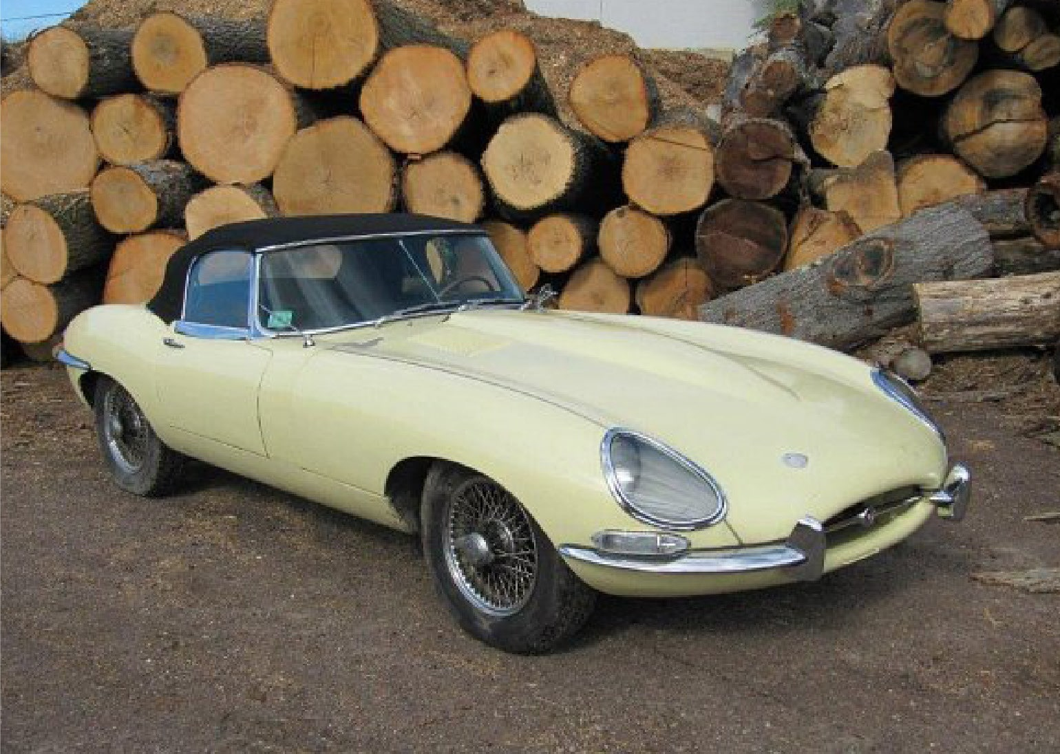Jaguar E-Type Series 1 3.8 Roadster LHD 1963
