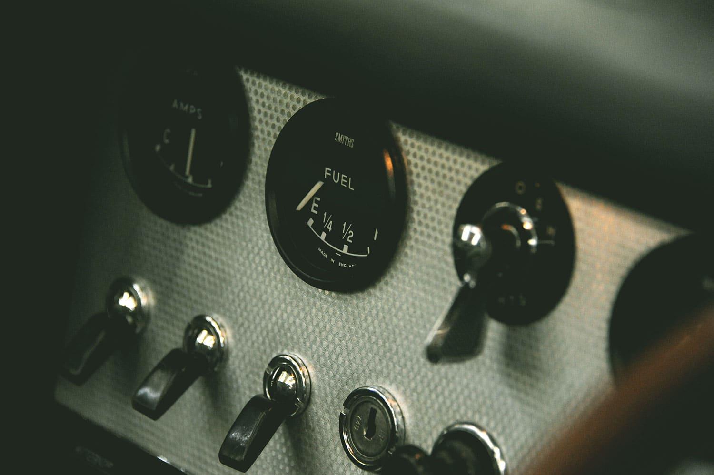 Steve Coogan's E-Type badge interior 3