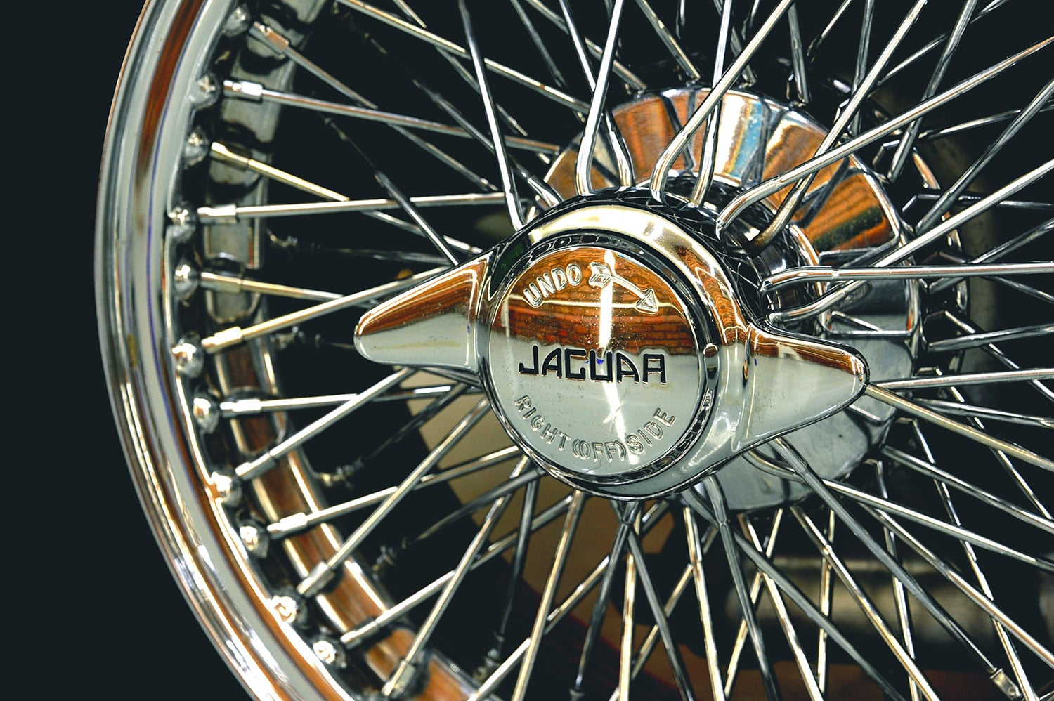 Jaguar E-type wheel