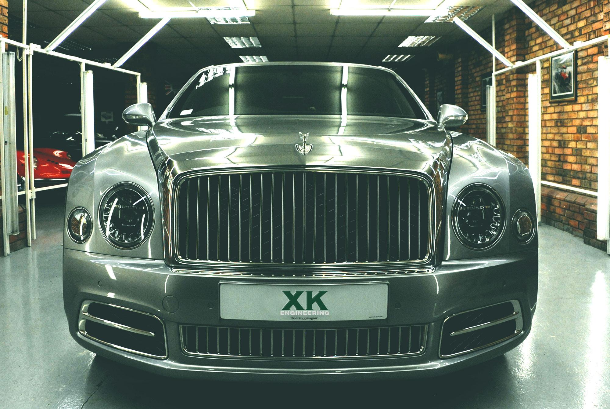 Slider Bentley Front