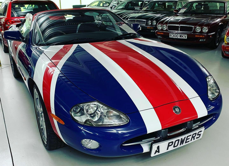 Patriotic Jaguar XK