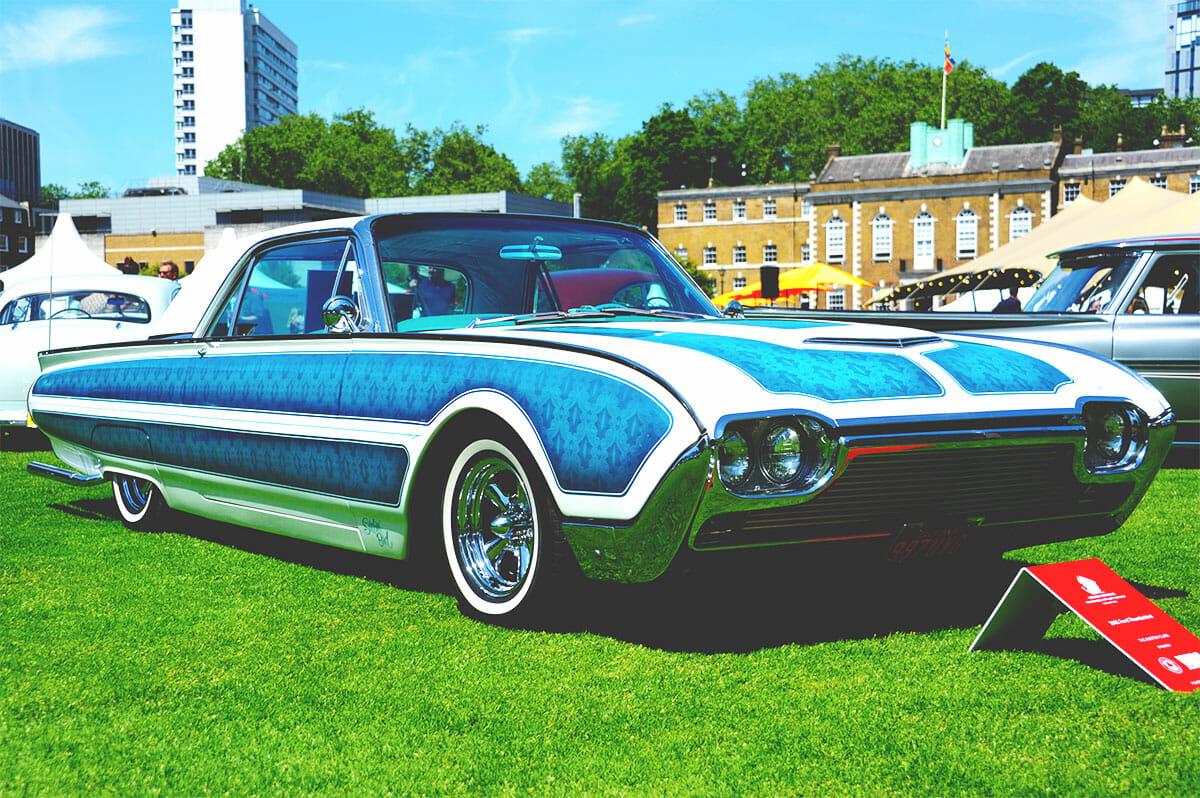 London Concours Blue Lowrider