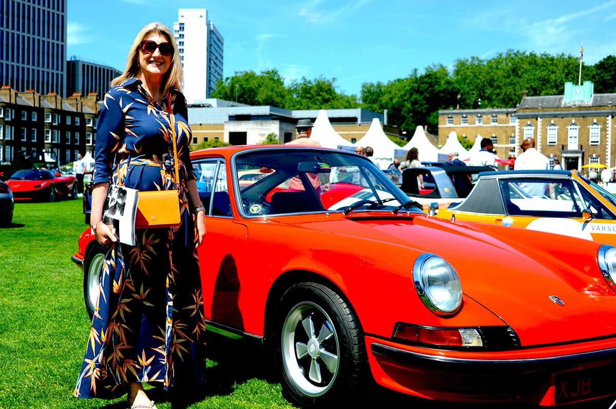 London Concours Jane Mossop Porsche