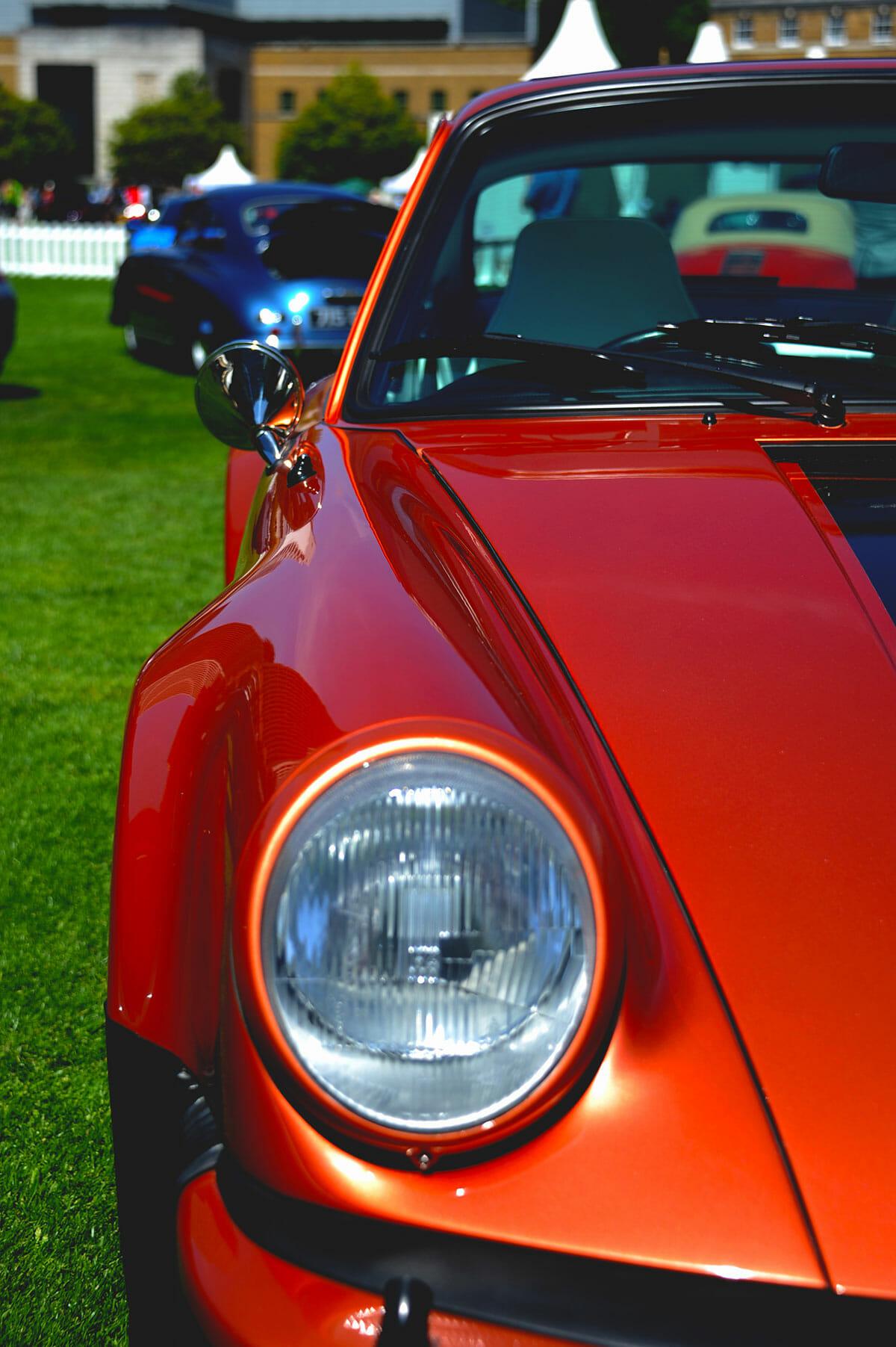 London Concours Orange Porsche