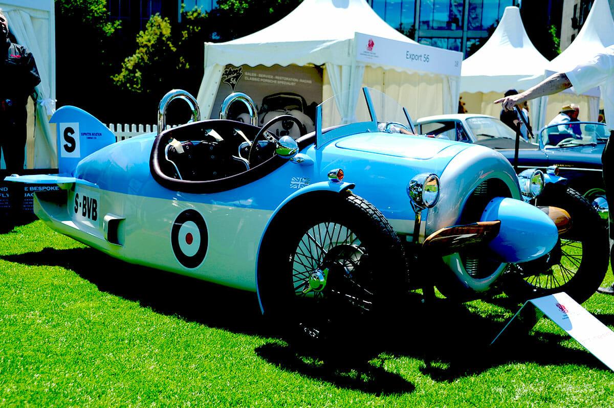 London Concours Propeller Car